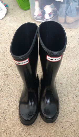 Hunter boots Girls like new Size 2 for Sale in Apollo Beach, FL