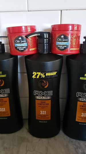 Axe and old spice high shine pomade for Sale in Phoenix, AZ