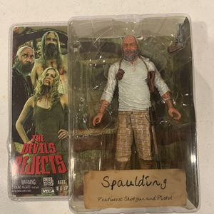 The Devils Rejects Captain Spaulding Action Figure NECA Rob Zombie New for Sale in Westminster, CA