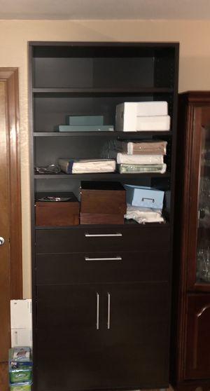 Shelves wardrobe organizer drawers for Sale in Everett, WA