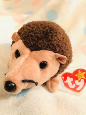 ERRORS RARE TY Beanie Baby PRICKLES the Hedgehog MWMT for Sale in Olathe, KS