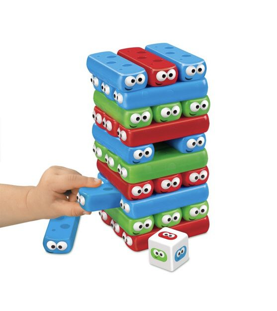Bugs building game - kids version of Jenga - ages 3+ - 2 to 4 players