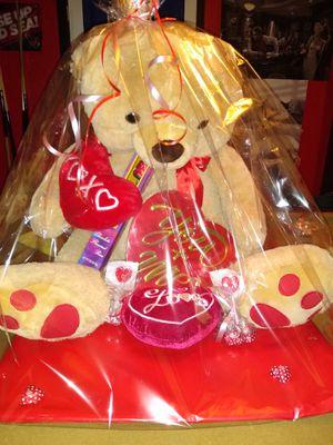 Valentine's day teddy bear for Sale in Tucson, AZ