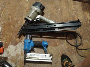 Porter cable Framing nail gun and regular nail gun for Sale in Dallas, TX
