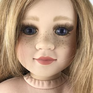 """My at Winn Doll Blond Blue Eyes Long Eyelashes 23"""" with clothes and shoes for Sale in Huntington Beach, CA"""