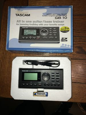Tascam GB-10 All in 1 guitar/bass trainer for Sale in Los Angeles, CA