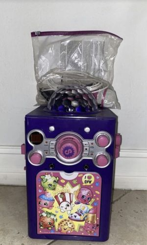 Shopkins karaoke for kids with disco (Brand New) for Sale in Hialeah, FL