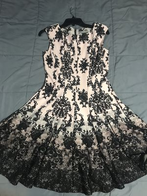 Danny and Nicole vintage-print dress for Sale in Peoria, IL