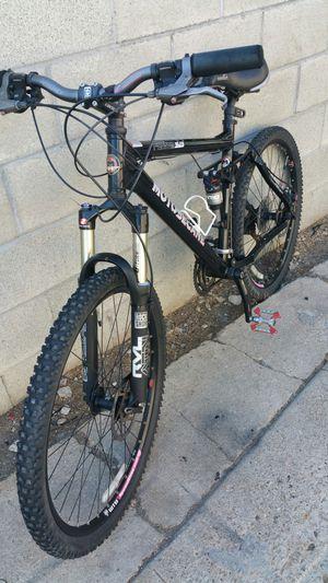Motobecane mountain bike full suspension size medium rims 26 for Sale in Los Angeles, CA