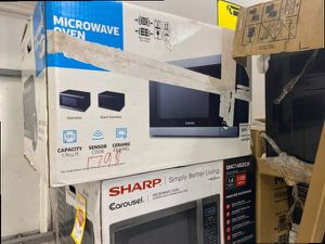 Samsung MS19M8000AG microwave ☺️☺️☺️ FGNW for Sale in Ontario, CA
