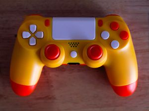 Candy Corn - DUAL SHOCK 4 - Wireless Bluetooth Custom PlayStation Controller - PS4 / PS3 / PC for Sale in Riverside, CA