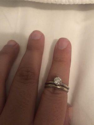 14 kg gold diamond ring for Sale in Midlothian, VA