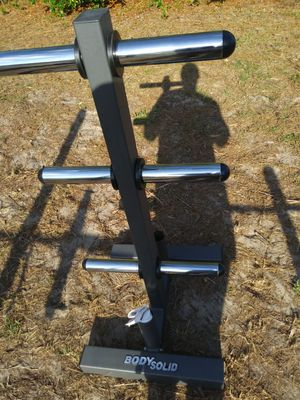 Body solid weight rack for Sale in Tampa, FL