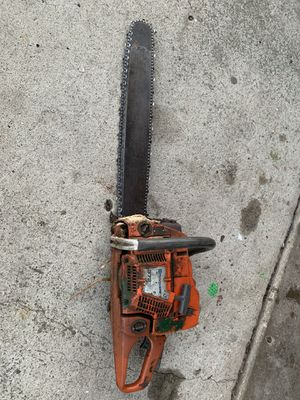 Husqvarna chainsaw for Sale in San Diego, CA