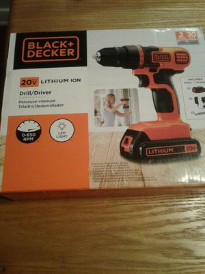 Black and decker drill for Sale in Springdale, AR