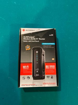 Modem and WiFi Router for Sale in Hummelstown, PA