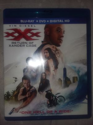 XXX return of Xander cage blu ray for Sale in Chandler, AZ