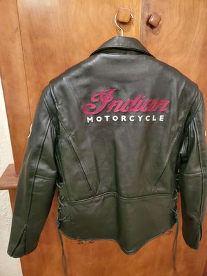 Leather Indian Motorcycle Jacket for Sale in MERRIONETT PK, IL