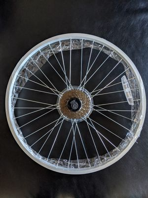 """Brand new 24"""" rim never used with gears. Asking only $40.00. thanks for looking. for Sale in Albuquerque, NM"""