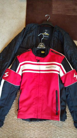 Scorpion motorcycle jacket with liner..size L-Tall for Sale in Suwanee, GA