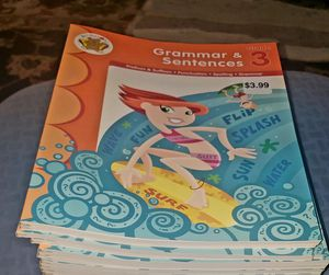 GRADE( 3 )GRAMMER BOOK, SET OF 23 for Sale in Fresno, CA