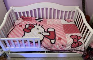 White toddler bed for Sale in North Las Vegas, NV