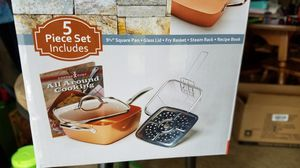 Copper Chef 5-piece set for Sale in Lynnwood, WA