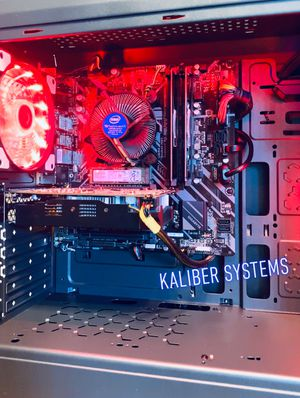 Custom Gaming Computer with Intel i5 9400F, 1060 GTX, 256GB NvME/1TB HDD for Sale in Greenacres, FL