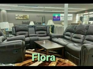 hermosos juego de sala reclinable 💝💞🤎HOUSTON SOLO $54 DOWN PAYMENT 🤎💝💞 for Sale in Houston, TX