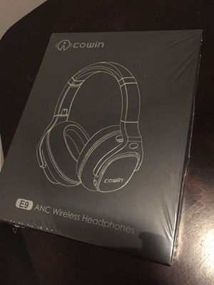 COWIN E9 ANC Wireless Headphones Brand New Unboxed!! for Sale in Chicago, IL