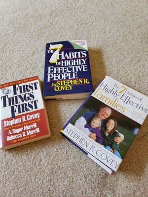 3 new Stephen Covey books for Sale in Dublin, OH