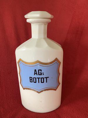 Antique Apothecary Porcelain Bottle for Sale in Parkland, FL