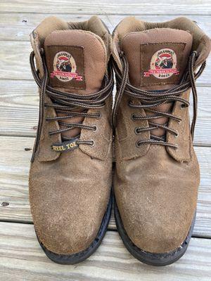 BRAHMA Steel toed work boots sz 8.5. MINT! for Sale in Woburn, MA