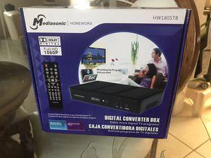 Digital Converter Box Mediasonic Homeworx 180stb for Sale in Miami, FL