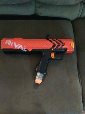 Nerf rival toy gun for Sale in San Antonio, TX