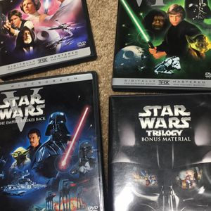 Star Wars Trilogy DVD set with Bonus Material. for Sale in Mission Viejo, CA
