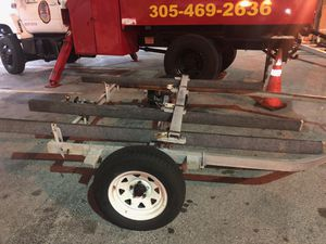 Trailer doble papeles for Sale in Hialeah, FL