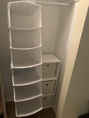 closet organizer for Sale in Hanover Park, IL
