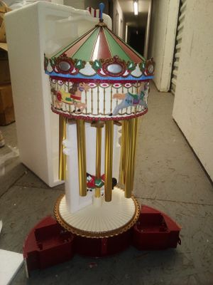 Christmas carasel with music for Sale in Parkersburg, WV