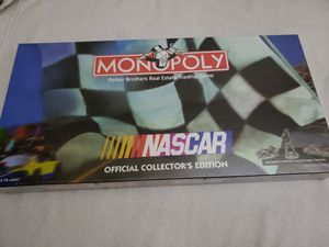 Game board NASCAR MONOPLY for Sale in Hammond, IN