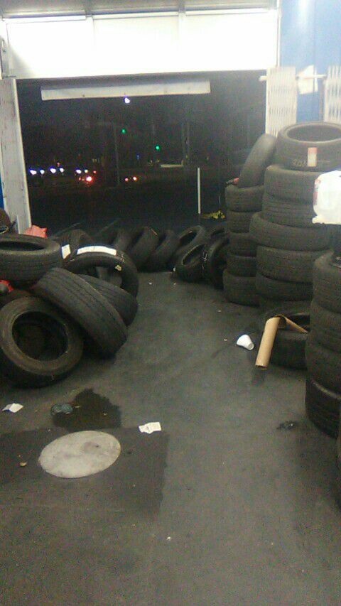 Pro audio shop need tire alignment or sound system let me know