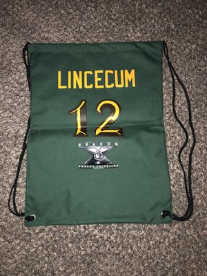 Fresno Grizzlies Tim Lincecum Jersey Bag Fan Giveaway for Sale in Fresno, CA