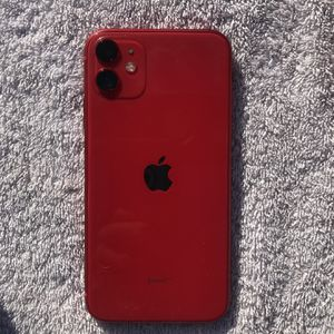 Iphone11 excellent condition red 64g for Sale in Phoenix, AZ