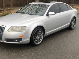 """2008 Audi A6 Runs Excellent navigation system 19"""" Rims for Sale in Tracy, CA"""