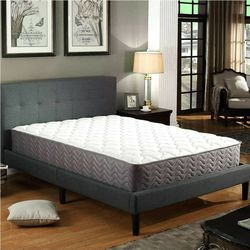 Swiss Ortho Sleep, 12 Inch Queen Coil Pocket Spring Contour Mattress for Sale in Rockwall,  TX