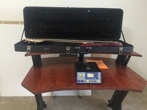 Studio desk|focusrite isa one pream|bass guitar and case for Sale in Frederick, MD