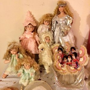 Vintage Porcelain Dolls - $30-$50 Each Obo for Sale in Cupertino, CA