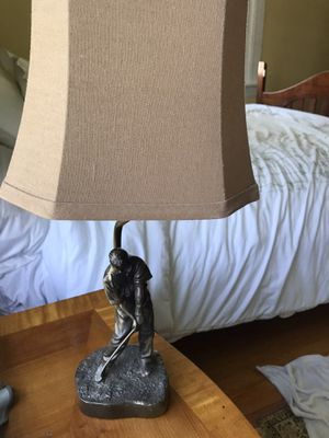 "Golf lamp 19"" tall for Sale in Virginia Beach, VA"