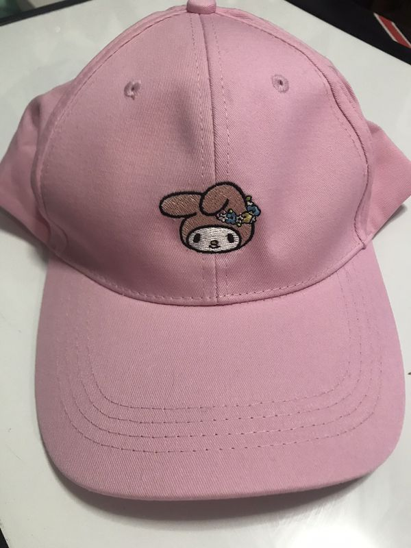 Sanrio my melody pink hat