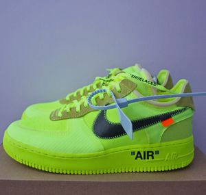 Off White Air Force 1 Volt Size 10-12 for Sale in Alexandria, VA